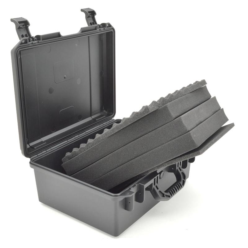 隽狼塑料安全箱摄影仪器仪表密封防潮五金工具配万能海棉定制设备
