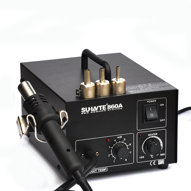 进口镍络发热芯 恒温850热风拆焊台 调温热风枪焊台焊芯片用