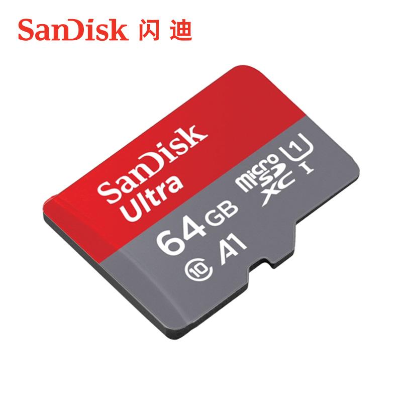 储存卡 卡 tf 64g 卡手机内存卡 sd micro 内存卡高速通用手机存储卡 64g 闪迪 SanDisk