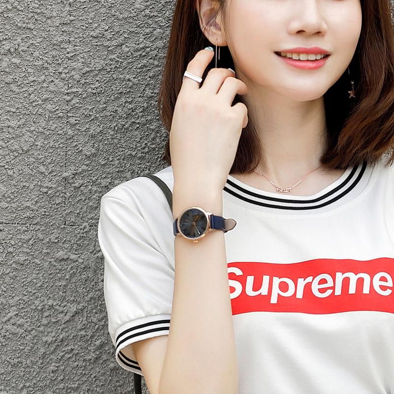 聚利时手表女学生韩版时尚款潮流简约复古大气质防水ulzzang女表