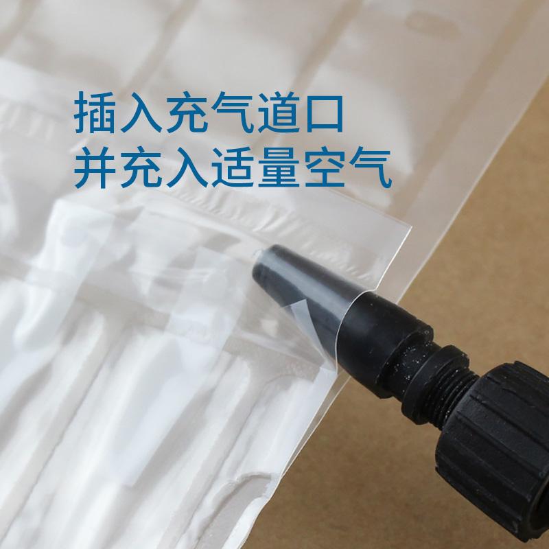 硒鼓气柱袋8柱A红酒快递防震充气包装打包气泡袋防摔气泡袋气泡柱