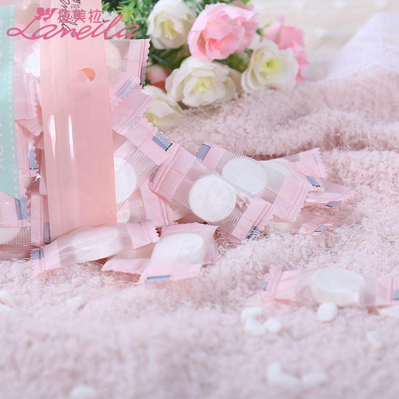 压缩面膜100粒 水疗 补水纸膜薄款diy棉面一次性面膜扣蚕丝面膜纸