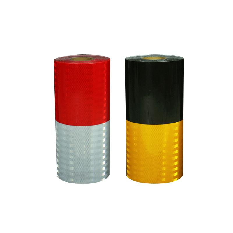 MNSD 安全道路警示高亮反光膜 微棱镜反光材料立柱电线杆反光贴纸