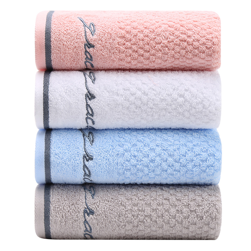 4条装 洁丽雅毛巾纯棉洗脸家用成人柔软全棉吸水男女加厚大毛巾 - 图0