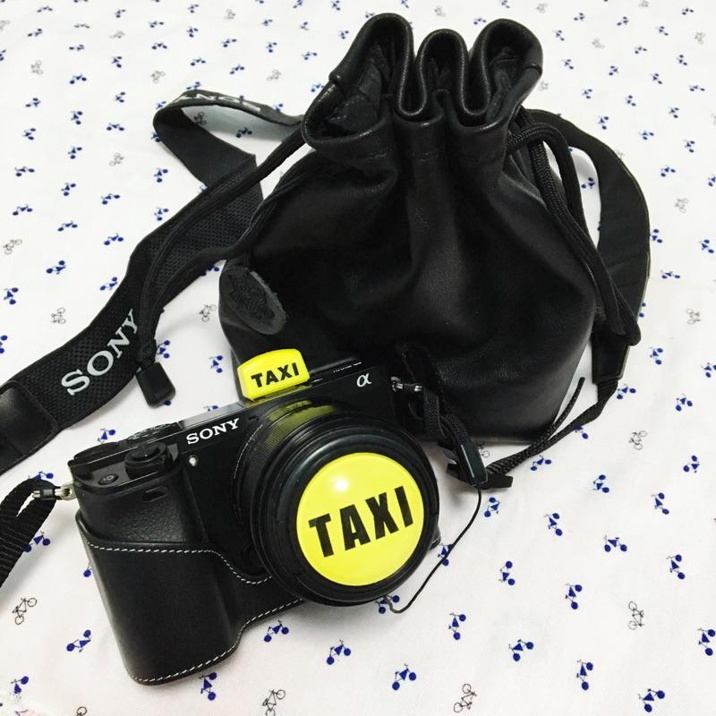 的士黄色TAXI相机闪光灯保护盖热靴卡通佳能尼康单反索尼微单通用