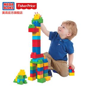 美高费雪大颗粒儿童玩具宝宝积木拼装积木玩具 1-2周岁礼物