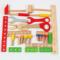 儿童修理工具箱益智玩具仿真拆装木工盒螺丝螺母木制男孩子过家家