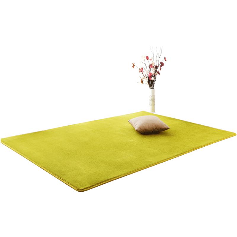 北欧地毯卧室床边毯客厅地垫毛绒房间满铺沙发茶几毯加厚简约家用