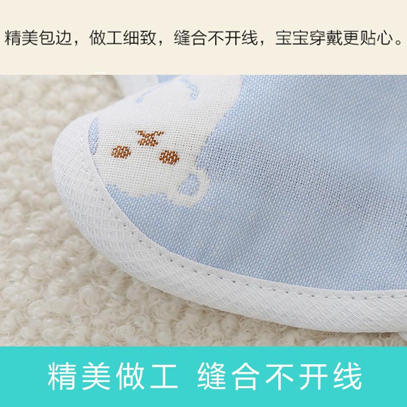 口水巾纯棉婴儿防水围嘴围兜360度可旋转新生宝宝防吐奶围脖秋冬