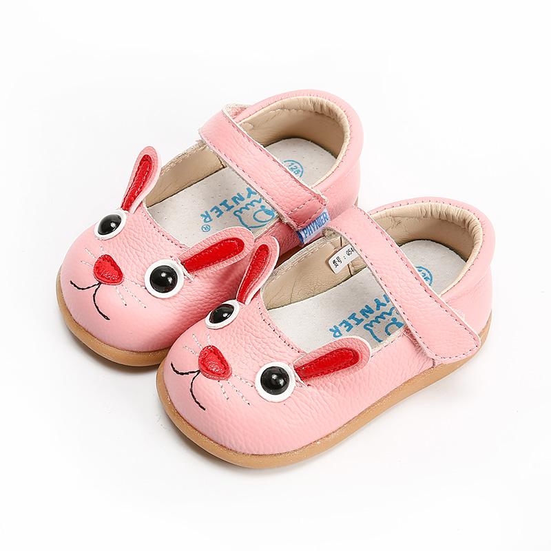 菲尼尔春季上新宝宝学步单鞋牛皮女童公主鞋 软底1-5岁儿童单鞋潮