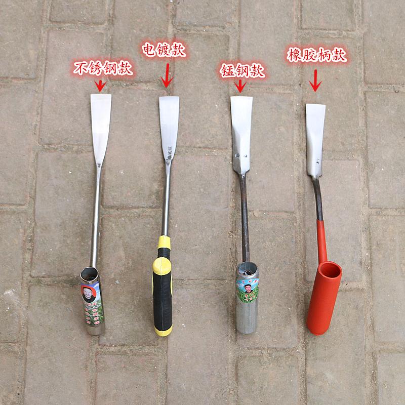 小铲子挖野菜不锈钢种花工具草药种菜盆栽园艺锋利松土大
