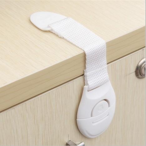 贝得力10个装儿童安全锁宝宝安全用品柜门锁马桶锁抽屉锁冰箱锁