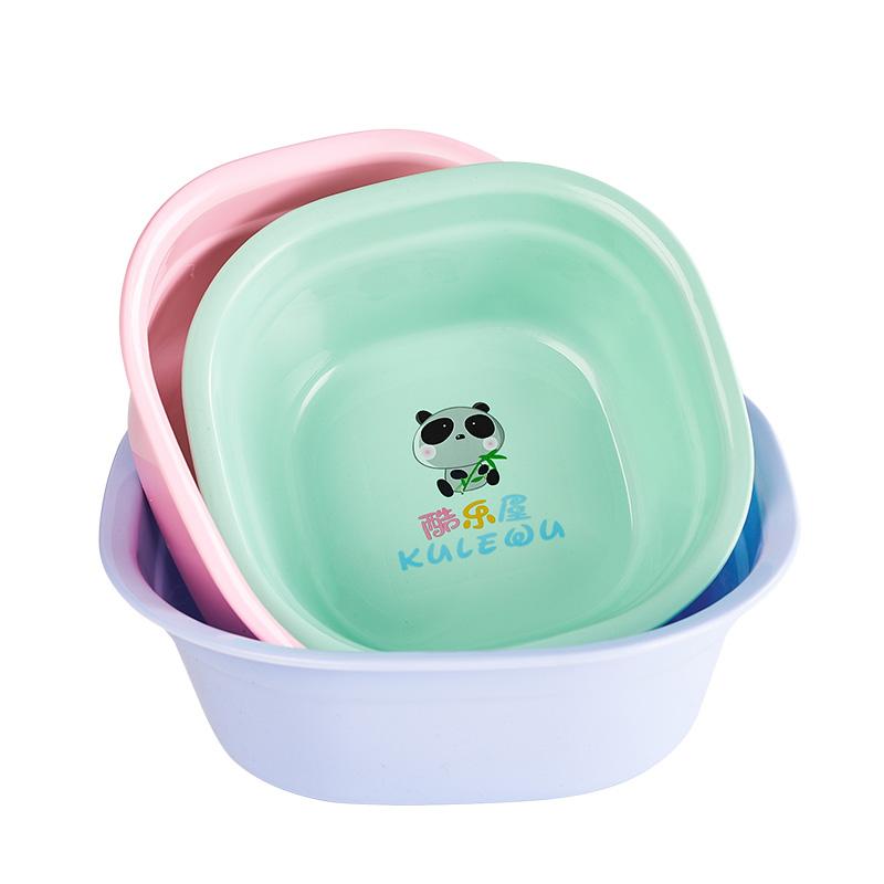 婴儿洗脸盆3个装新生儿用品洗屁屁股塑料PP盆童家用宝宝小盆子