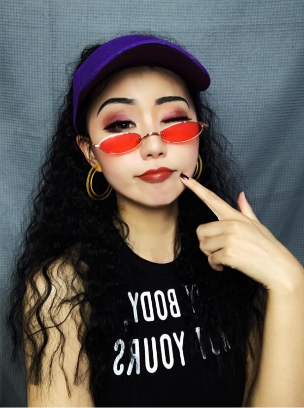 假发女马尾欧美爆炸头hiphop嘻哈小卷中长玉米烫假马尾辫抖音同款