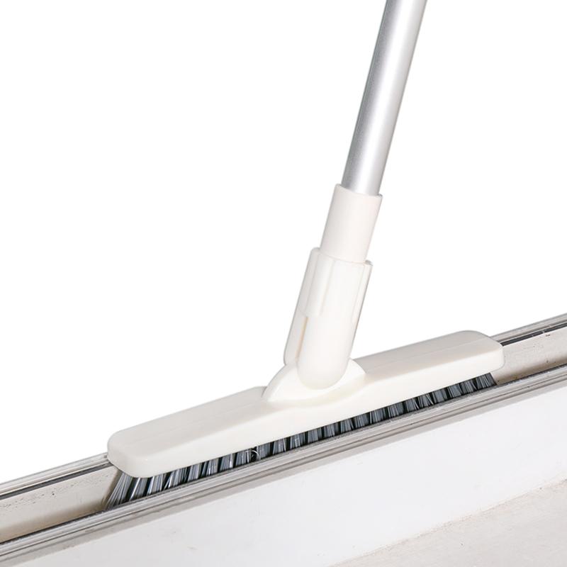 地板刷浴室卫生间洗厕所夹缝长柄刷子缝隙去死角清洁神器硬毛地刷