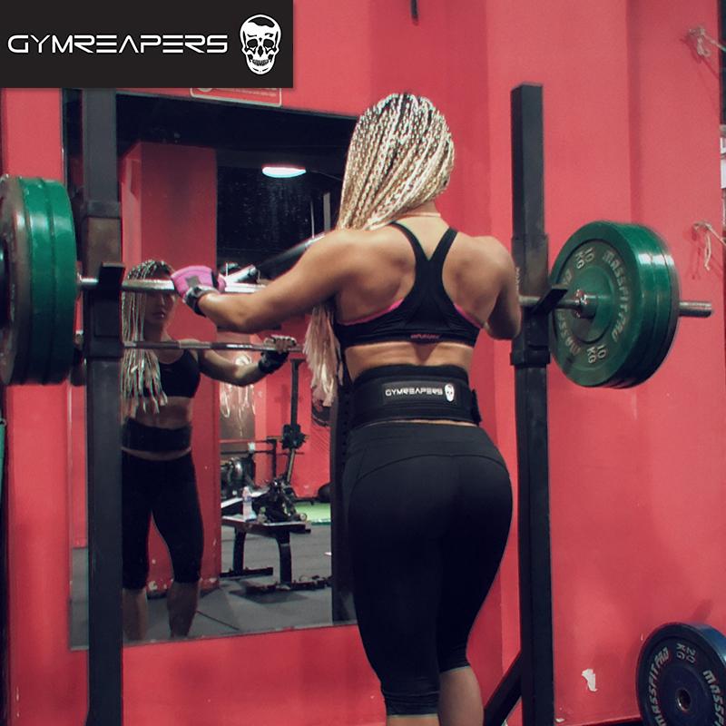 GR健身腰带护腰深蹲硬拉男运动举重训练束腰收腹女护具