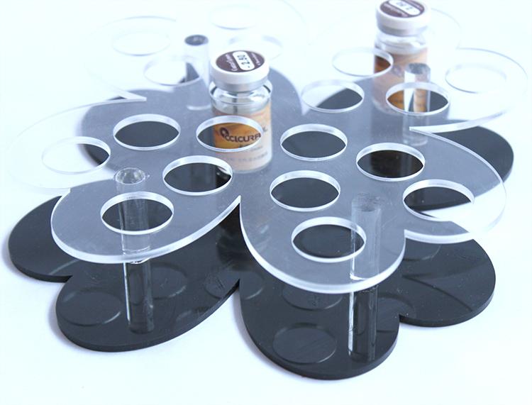 透明创意亚克力隐形眼镜展示架宫格12十二药店商场家用美瞳收纳盒