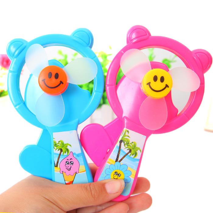 义乌地摊玩具批发热卖儿童小孩玩具创意卡通手压风扇 迷你小风扇