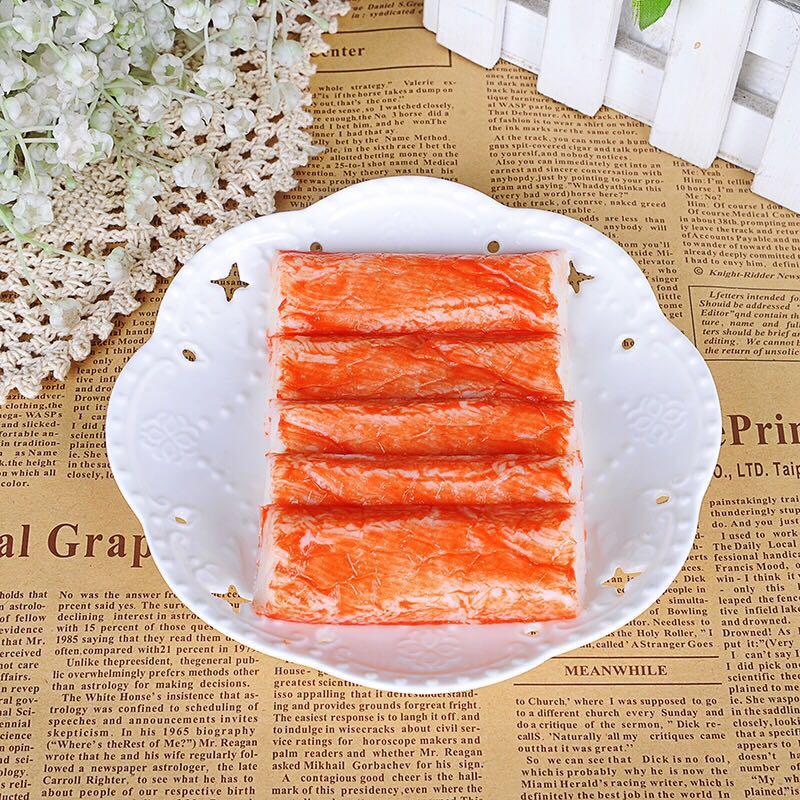 袋包邮 20 克 180 韩国进口客美无法呼吸蟹柳即食手撕蟹足蟹肉棒