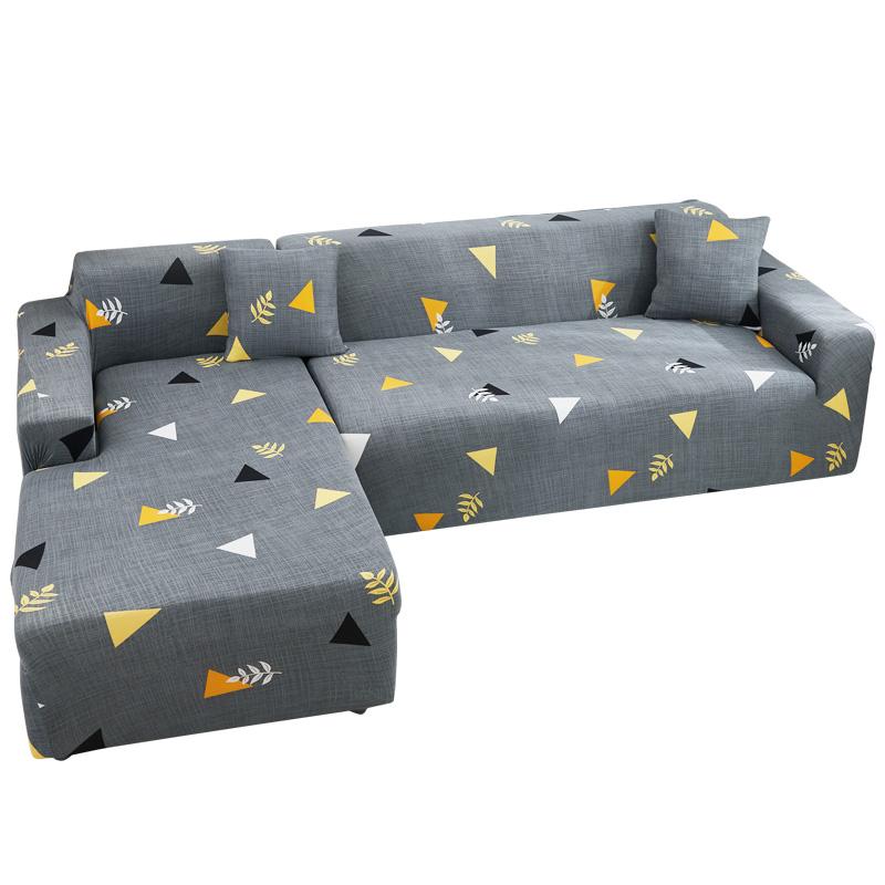 沙发套罩全包万能套布艺沙发垫懒人贵妃皮弹力沙发罩布四季通用型 - 图0