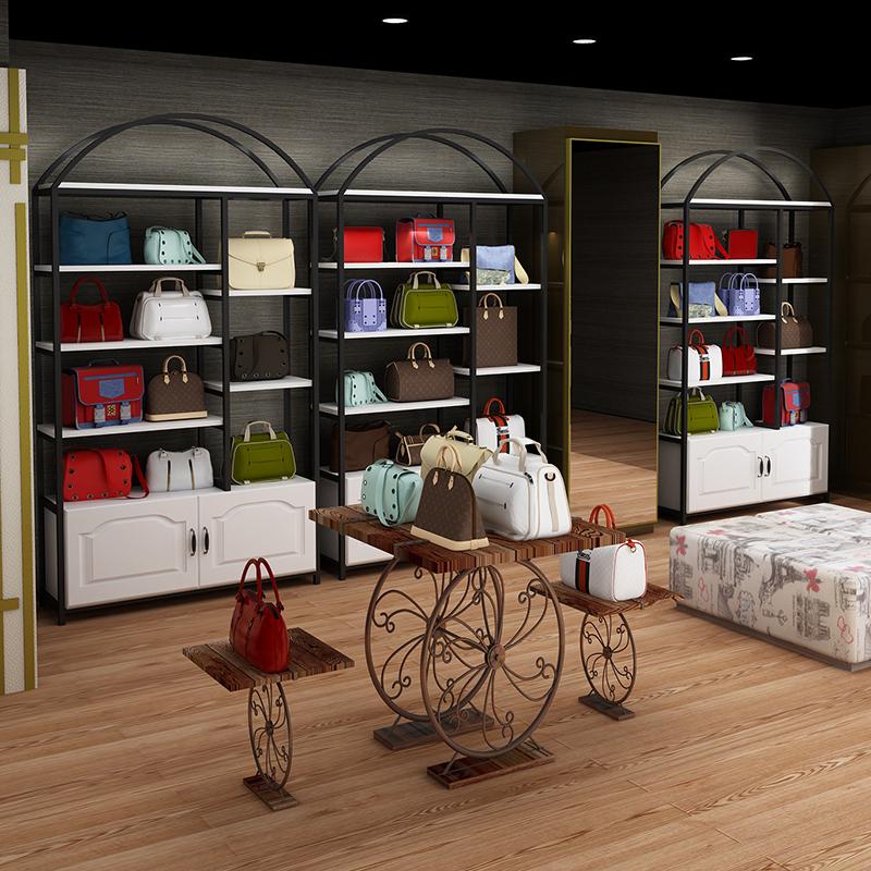 化妆品展示柜置物架隔断组合美容院母婴产品货柜超市货架展示架