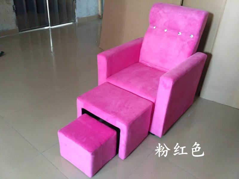 单人手动可躺美甲沙发美容美睫美足修脚沐足洗脚店椅子浴足疗椅子
