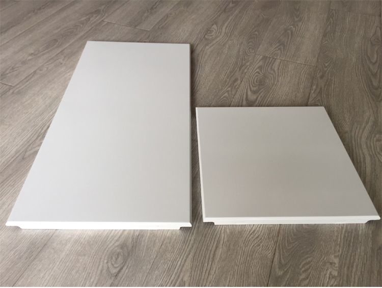 嘉美斯集成吊顶皓月系列 铝扣板天花 抗油污 亚光纯白300*300白色