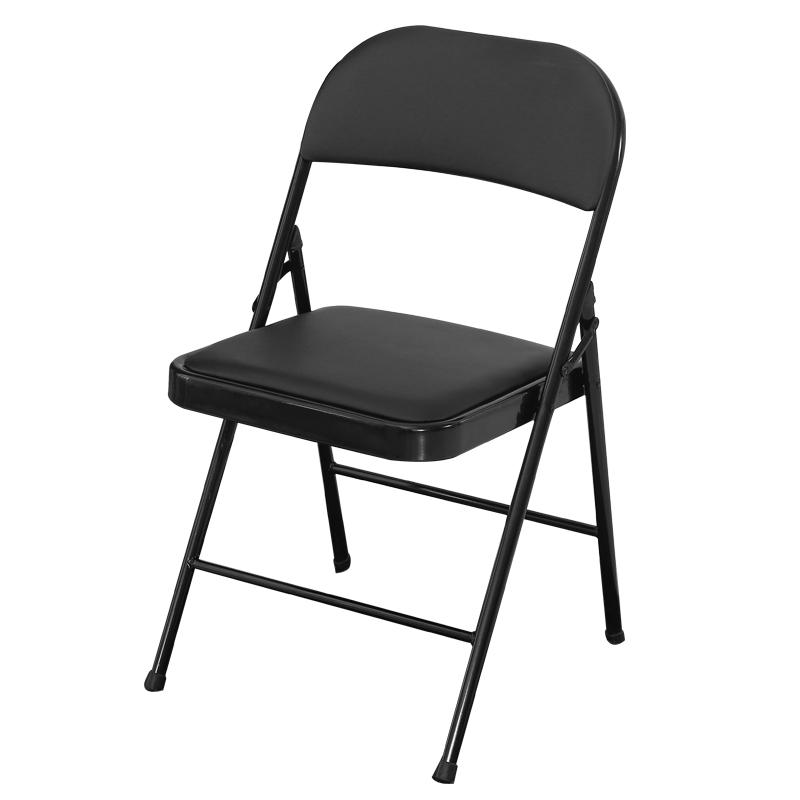 包邮折叠椅子靠背椅办公培训椅家用椅会议会展椅活动椅棋牌便携椅