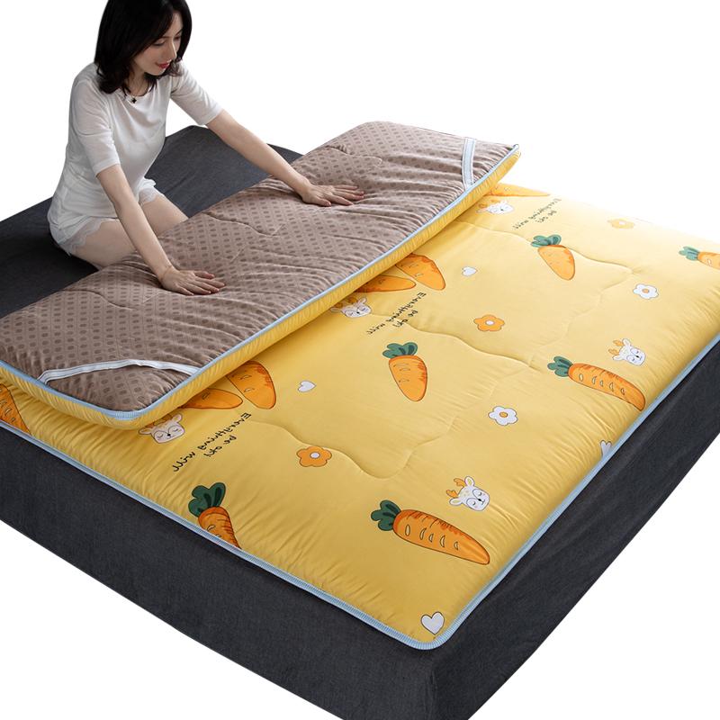 北极绒床垫软垫床褥子榻榻米双人家用宿舍单人学生加厚海绵垫被