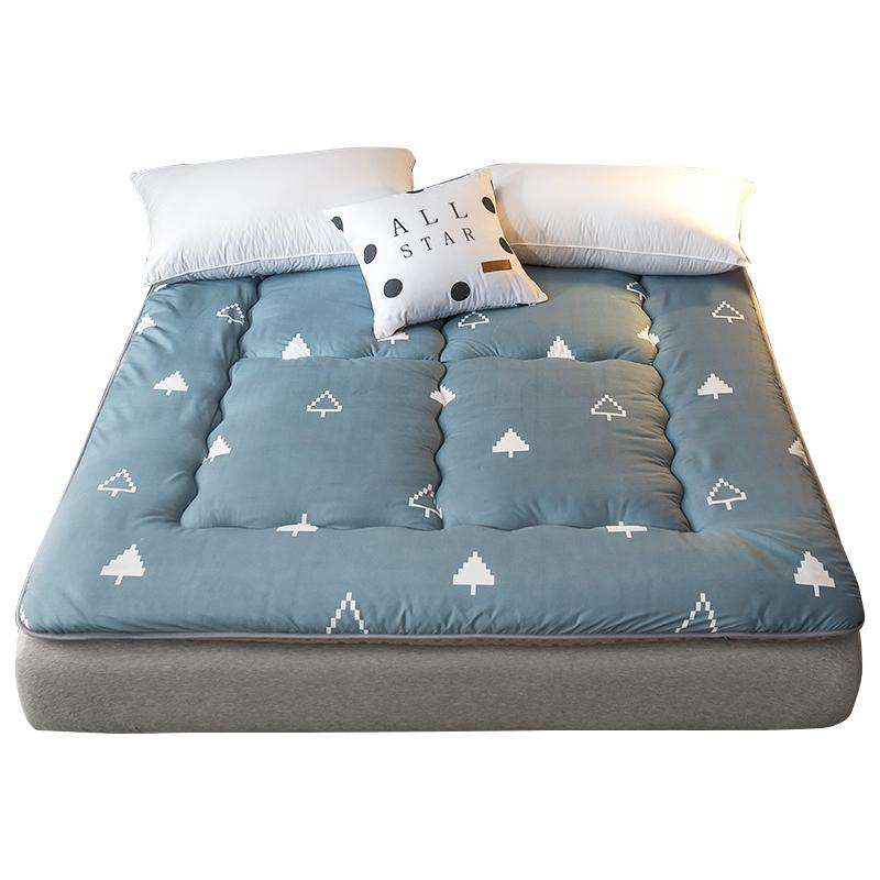 米垫被 1.2 米软垫双人家用褥子学生宿舍海绵 1.8 床 1.5m 加厚床垫床褥