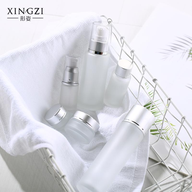 形姿化妆品分装瓶玻璃喷雾瓶卸妆水按压瓶乳液瓶旅行香水细雾喷瓶