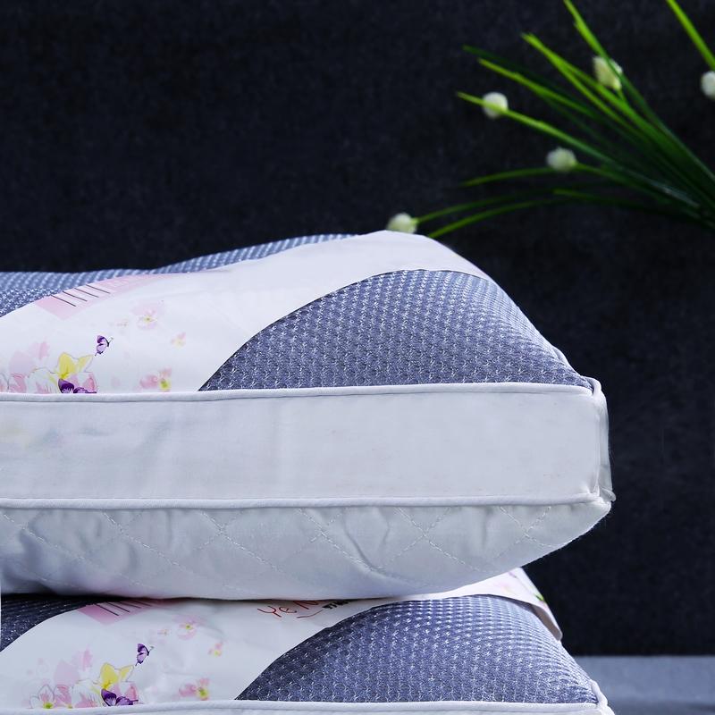 北极绒全棉透气枕芯荞麦枕头全荞麦壳枕芯护颈枕两用单人护颈硬枕