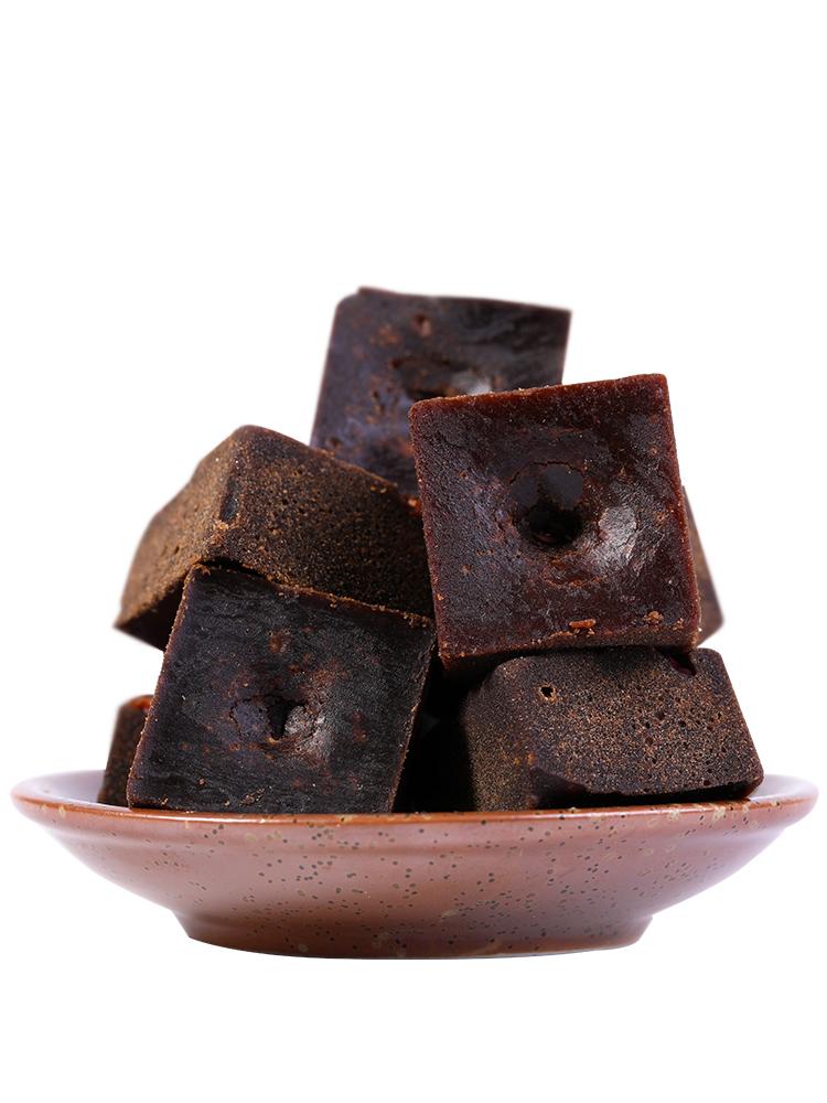 云南黑糖块单独小包装纯老手工调理土红糖正品气血红糖姜茶大姨妈