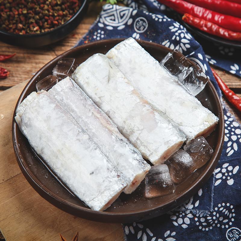 (过期)惠之园食品旗舰店 新鲜特级大号带鱼段1600g 券后24.9元包邮