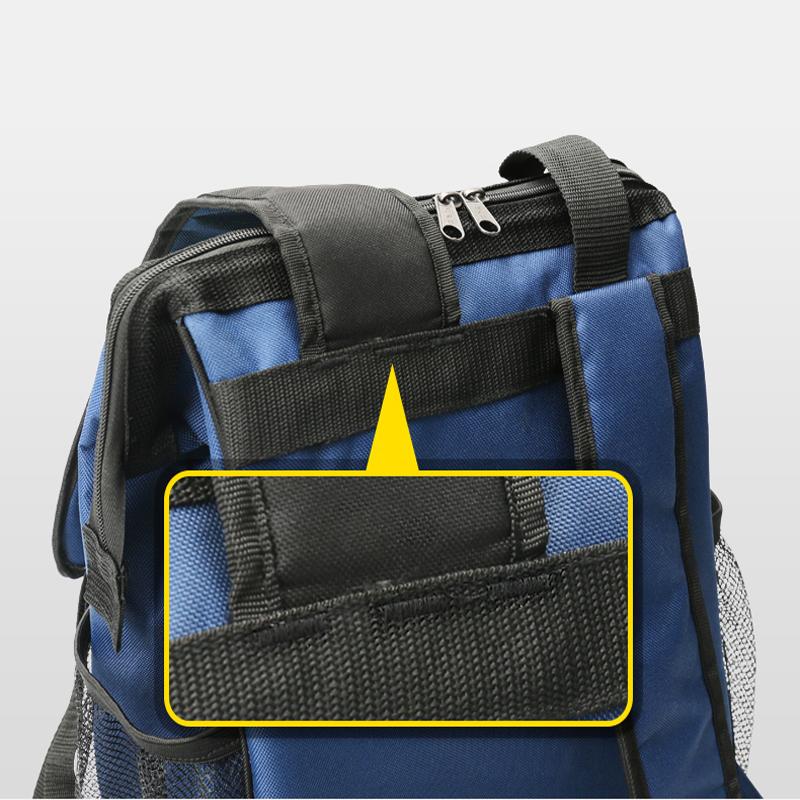 法斯特双肩工具包加厚耐磨安装大帆布多功能电梯维修电工专用背包