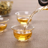 Glass tea cup small cup cup transparent single owner of a personal cup cup kung fu tea small household equipment 6