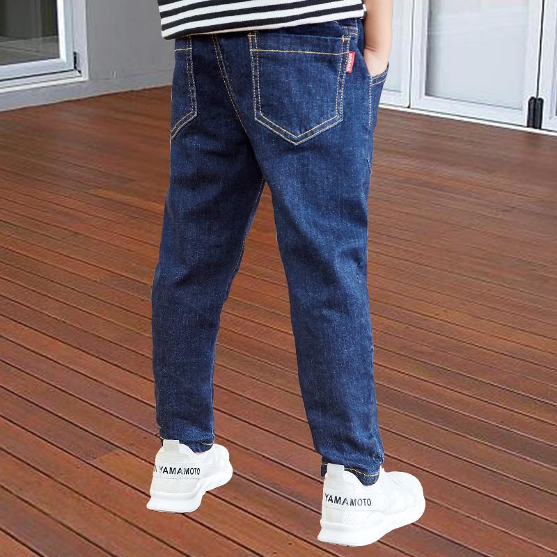 男童秋装牛仔裤 不起球不褪色加绒加厚