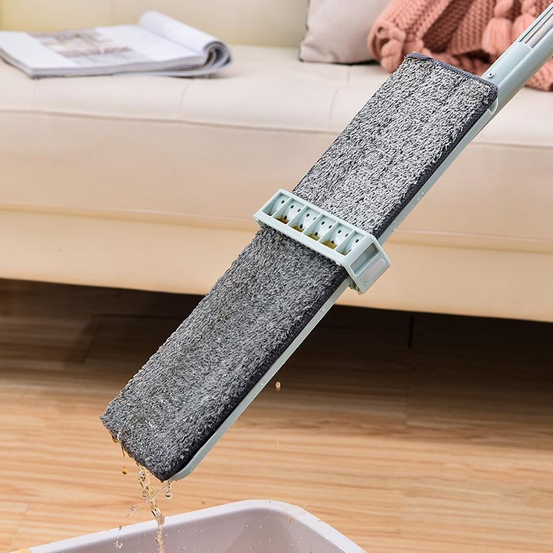 免手洗平拖托家用木地板拖把干湿两用