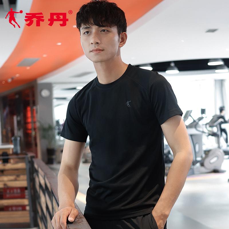 乔丹短袖t恤男装2019夏季新款透气半袖正品速干衣宽松运动短袖男