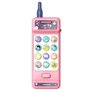婴儿玩具大哥大手机仿真益智男孩早教1-3岁女孩宝宝学习音乐电话