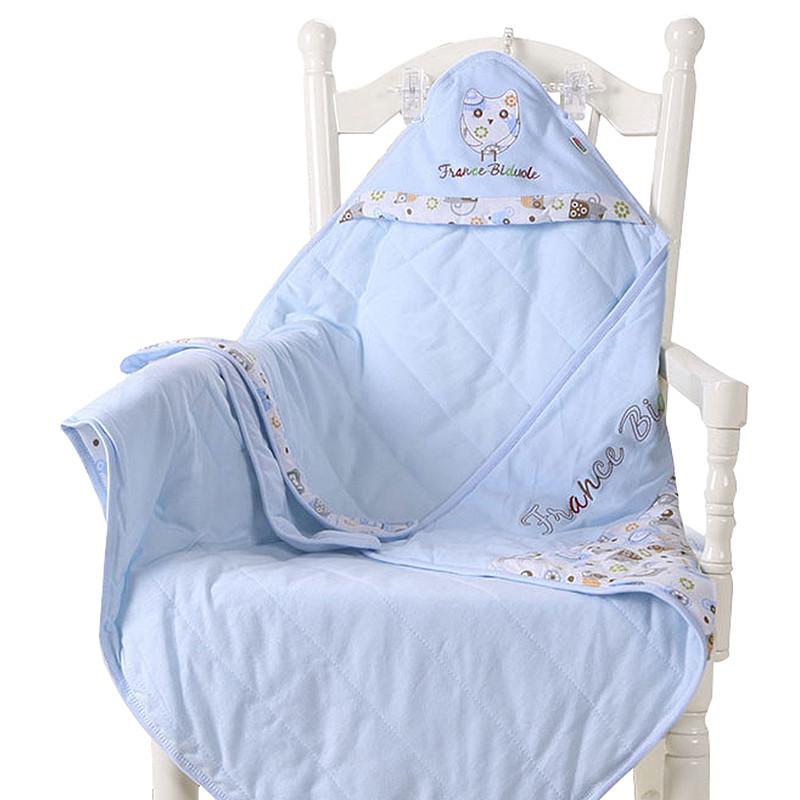 新生儿包被纯棉婴儿抱被春夏季抱毯春秋厚款被子襁褓包巾宝宝用品