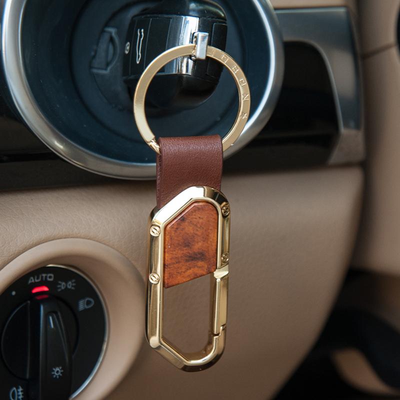 jobon中邦高档汽车钥匙扣男士女金属腰挂韩国钥匙链挂件创意礼品