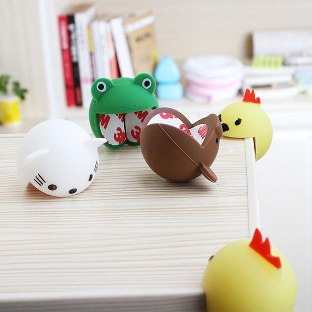 日本卡通硅胶防撞角桌角防护角桌子防护角婴儿安全卡通桌角2只装