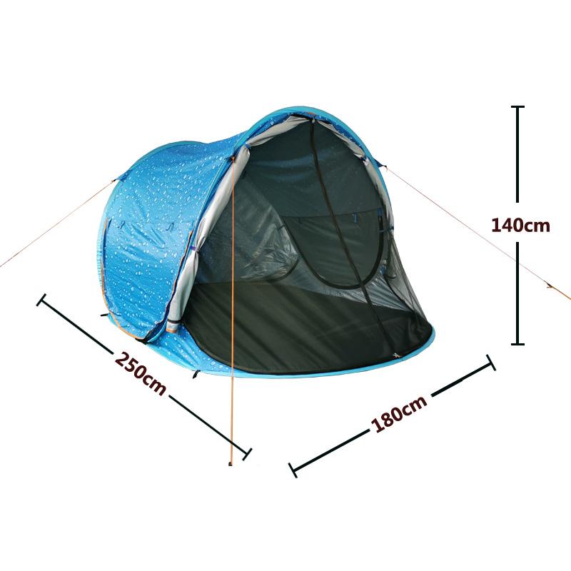 度全景视野帐篷 360 人加厚公园沙滩遮阳防晒 5 2 秒速开全自动 2