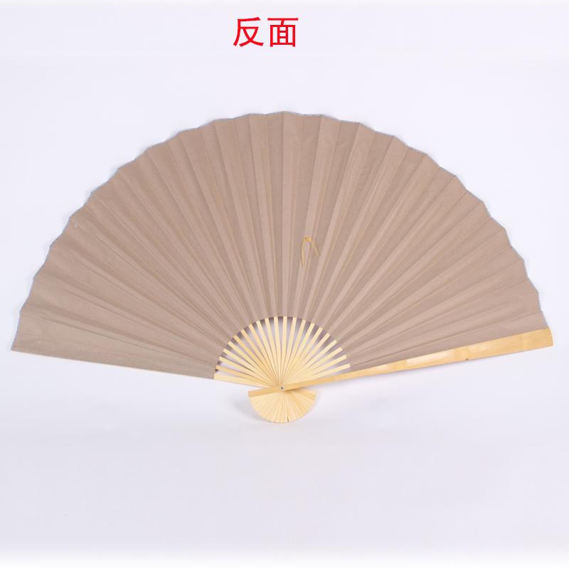 超大挂扇装饰扇中国风装饰工艺绢布大折扇子影楼道具婚庆摄影梅花