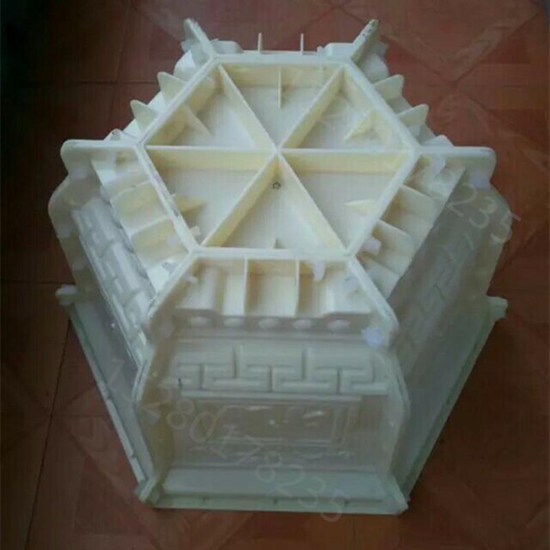 六角条形长方形四角盆景盆栽水泥制品模具厂家直销 60 水泥花盆模具