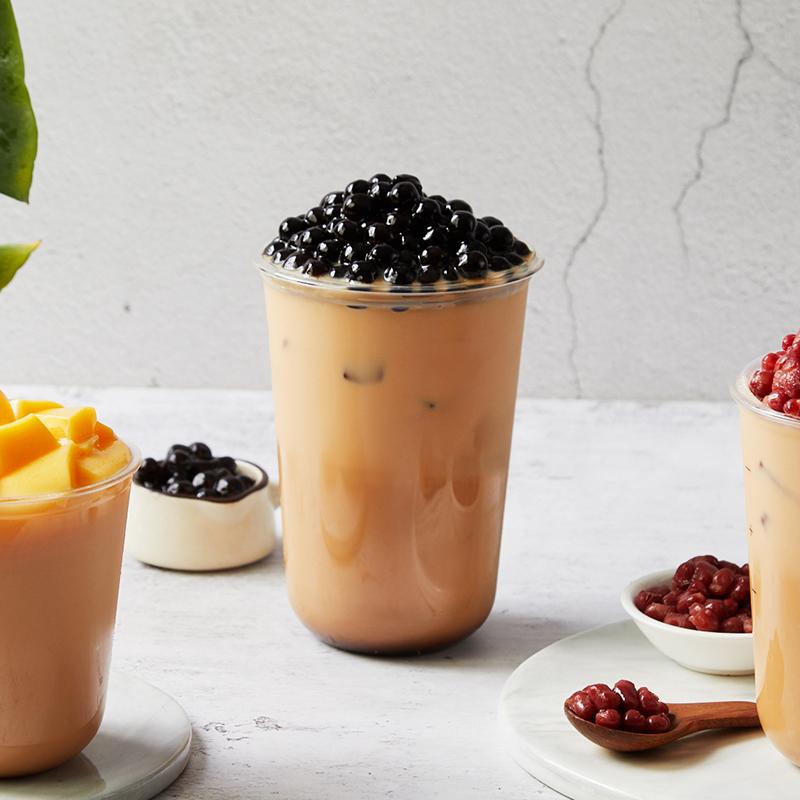盾皇植脂末奶茶专用原材料 商用浓香型奶精粉咖啡奶茶店伴侣18kg高清大图