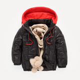 Children thin models down padded clearance-season coat small boys and girls in autumn and winter jacket coat baby boy