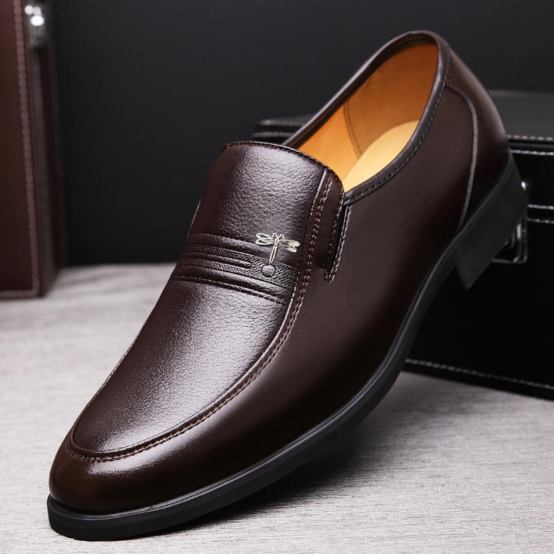 休闲鞋 48 加大号 47 码 46 商务正装 45 特大码男鞋子夏季透气皮鞋男真皮