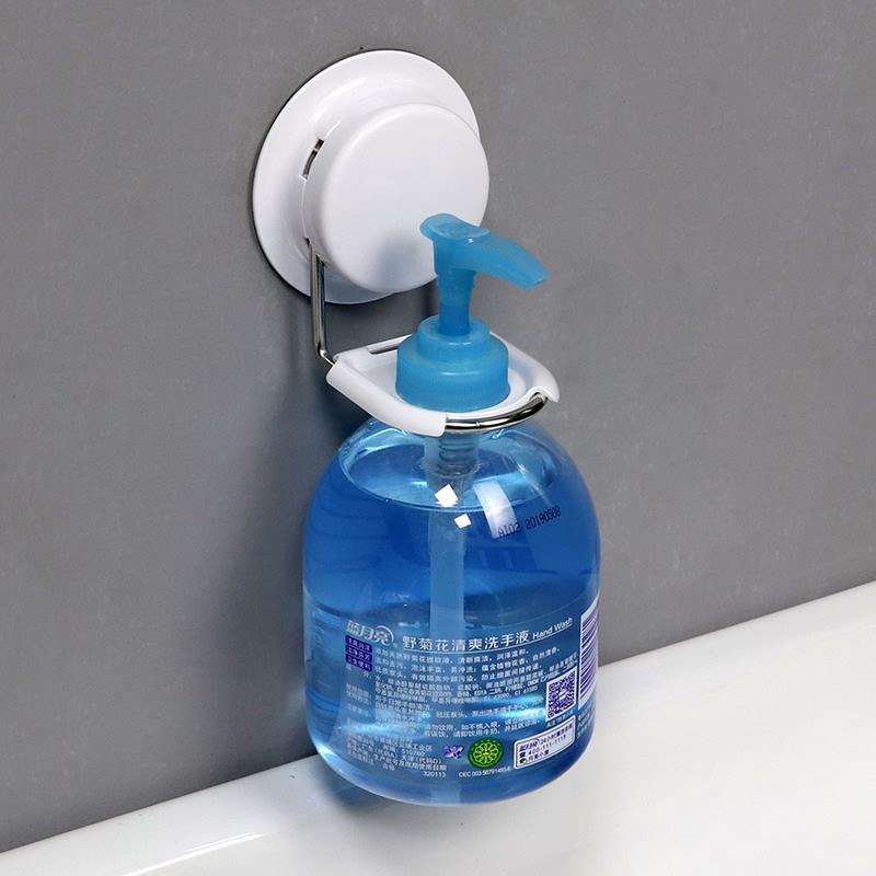 嘉寶吸盤洗手液架子置物架衛生間浴室乳液器架洗髮水沐浴露瓶掛架